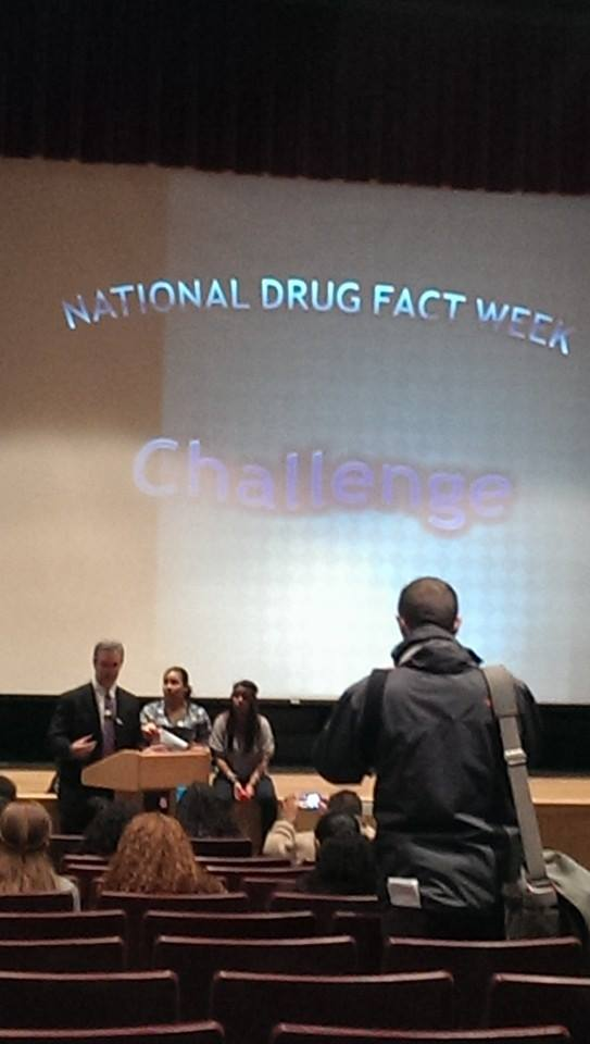 2014 National Drug Facts Week in Fitchburg