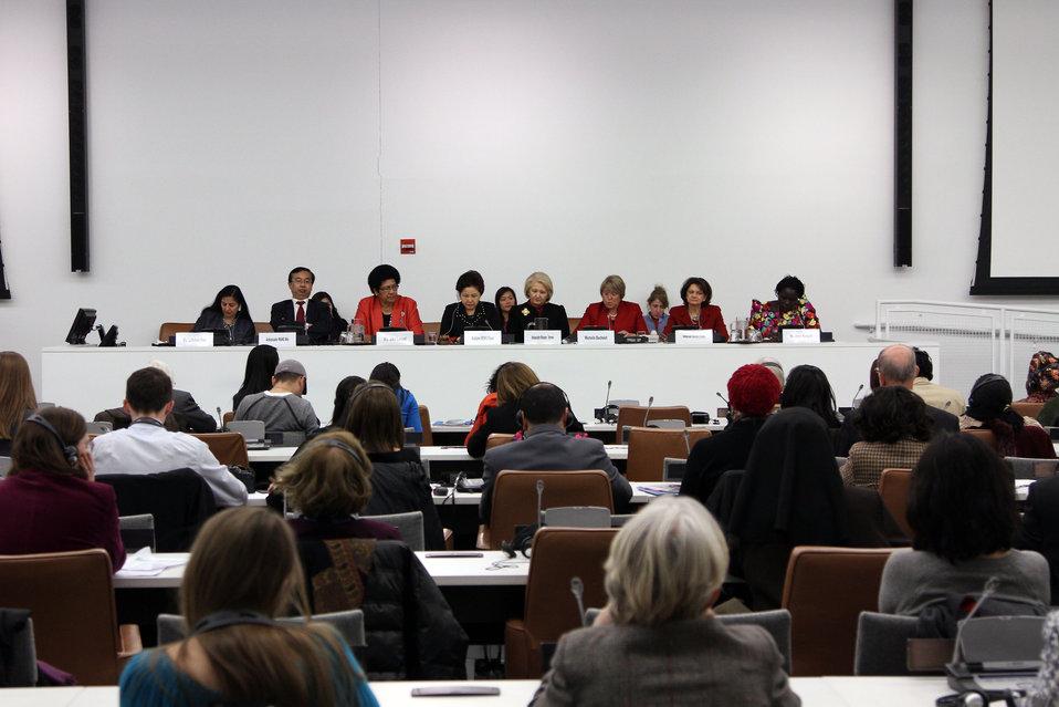 UN Women Executive Director Michelle Bachelet Addresses the U.S.-China Panel