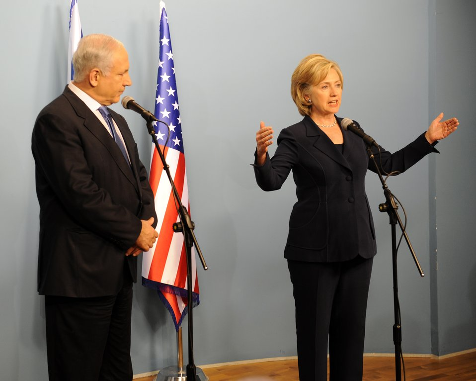 Secretary Clinton Press Conference With Israeli Prime Minister