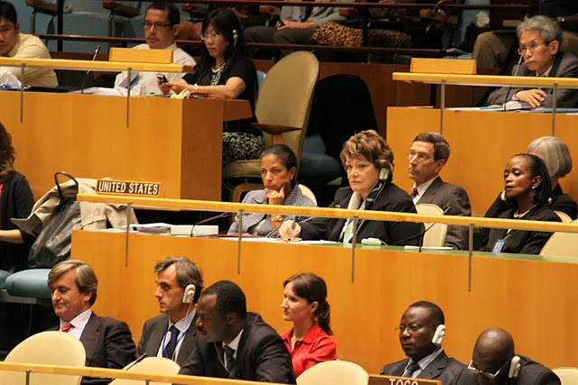Ambassador Rice, Under Secretary Tauscher, and Assistant Secretary of State for International Organizations Participate at U.N. Nuclear Nonproliferation Conference