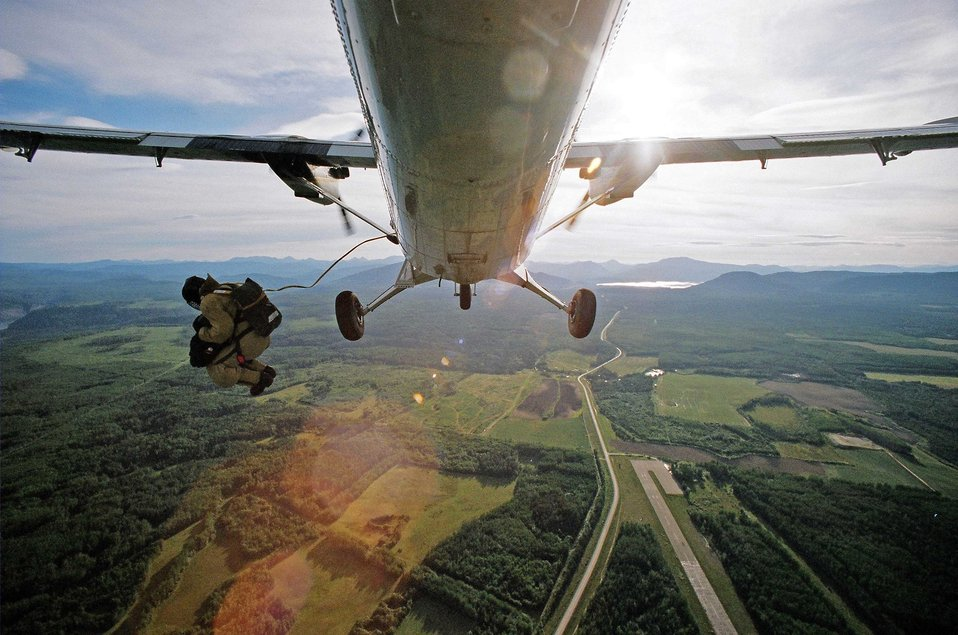 Smokejumper US Forest Service photo