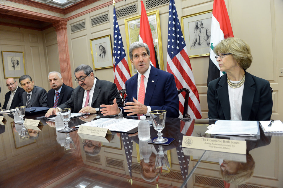 Secretary Kerry Delivers Remarks at the Fourth Meeting of the U.S.-Iraq Political and Diplomatic Joint Coordination Committee