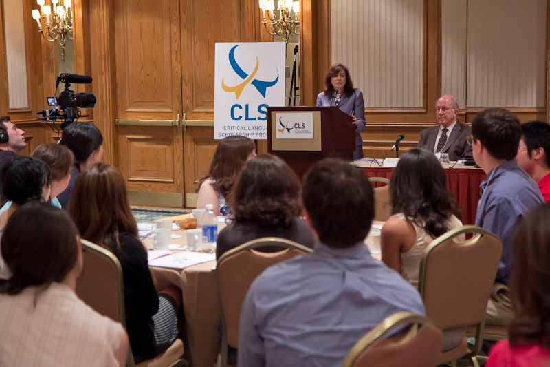 Under Secretary Sonenshine Speaks to Critical Language Scholarship Students