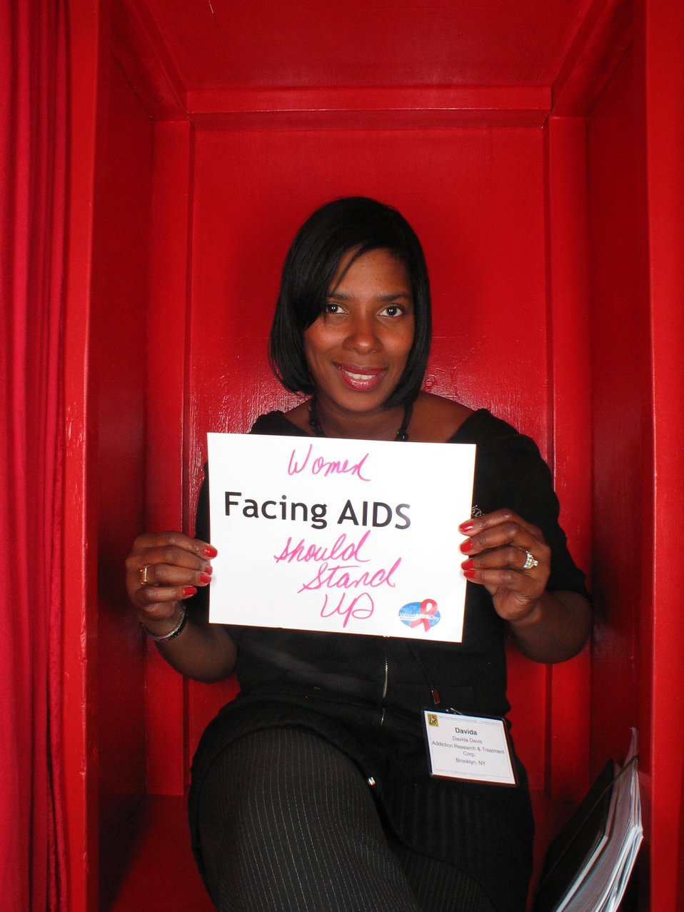 Women Facing AIDS should stand up