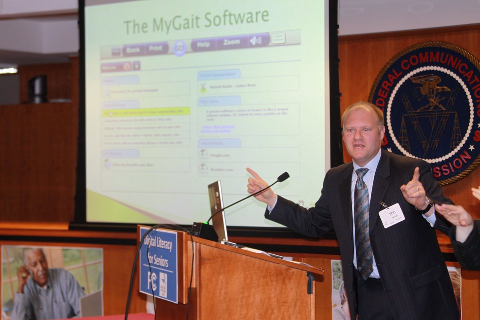Jeff Hill, MyGait:   Digital Literacy for Seniors:  How the Internet Can Benefit Older Americans, April 24, 2013