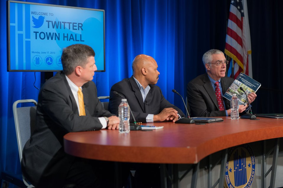 Acting Administrator Bob Perciasepe at Twitter Town Hall