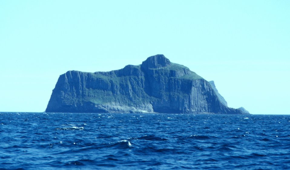 An island in the vicinity of Castle Cape.