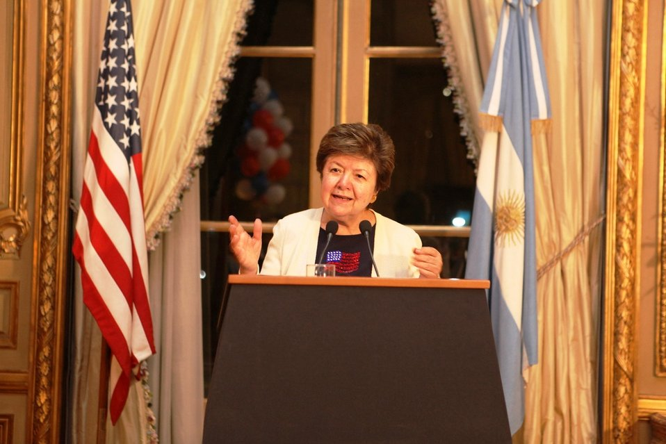 Ambassador Martinez Delivers Remarks at the Embassy's 2012 Election Event