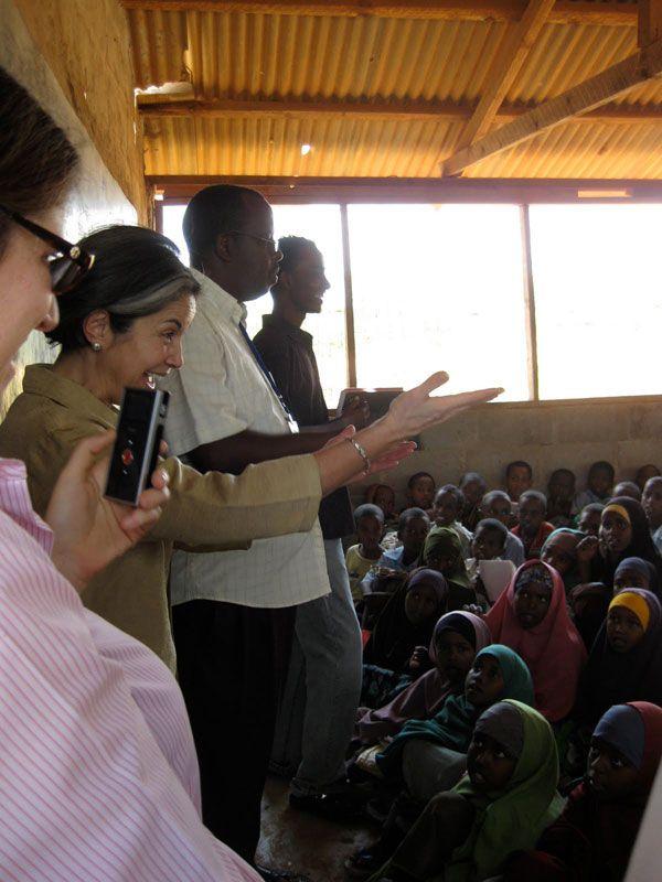 Under Secretary Otero Visits Kenyan Classroom
