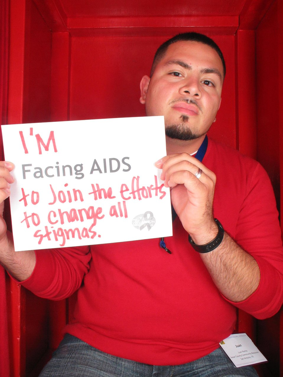 I'm Facing AIDS to join the efforts to change all stigmas.