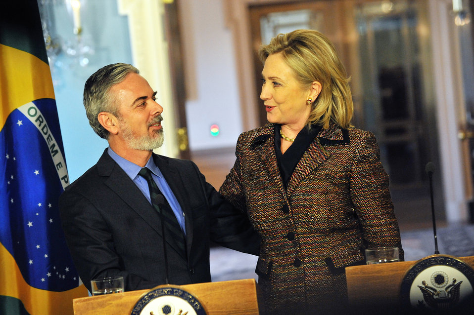 Secretary Clinton Speaks With Brazilian Foreign Minister Patriota