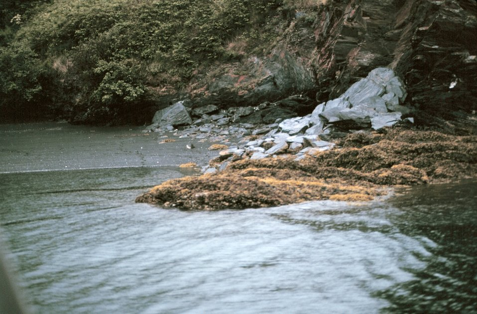 A small cove on Piridon Bay.