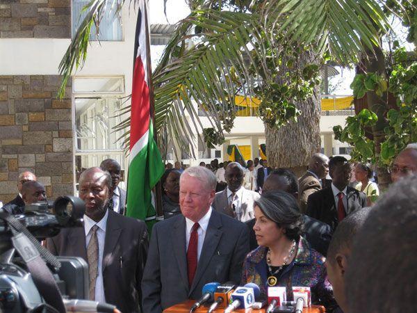 Under Secretary Otero and Ambassador Ranneberger Speak at Press Conference