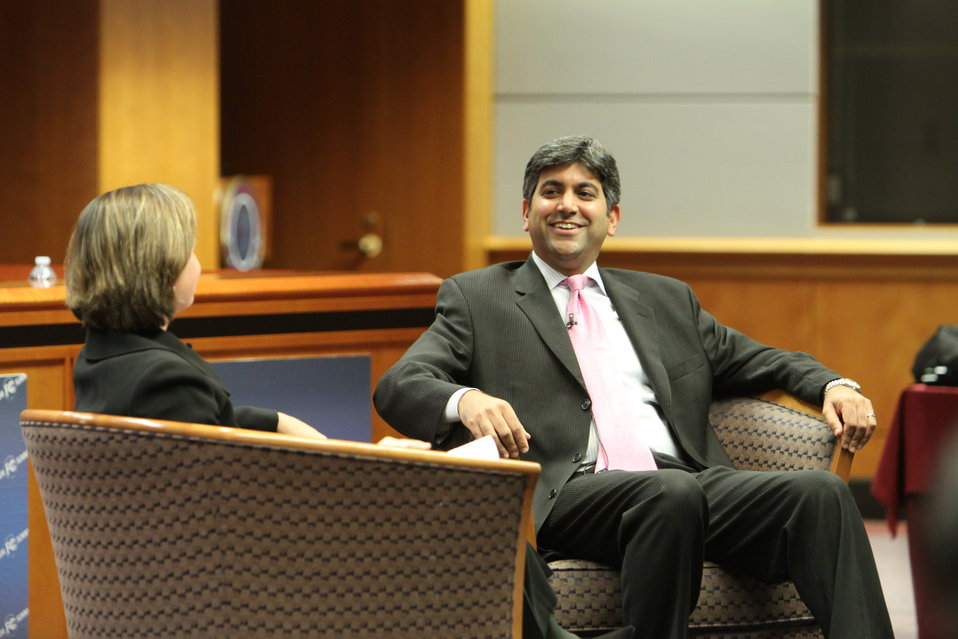 Aneesh Chopra, Chief Technology Officer of the United States and Meredith Attwell Baker, Commissioner, FCC