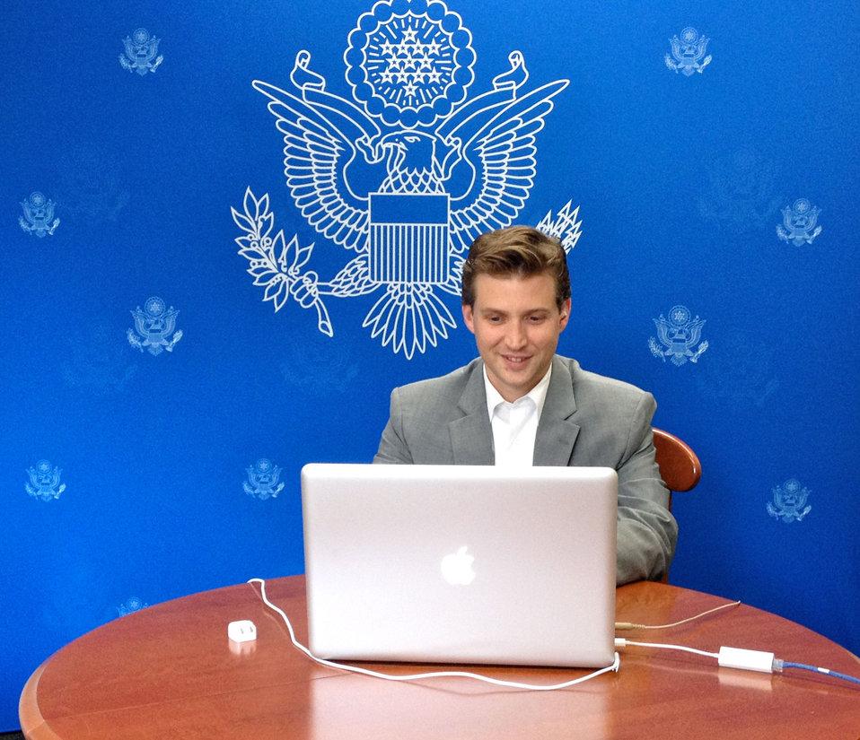 Senior Advisor Alec Ross Participates in a Google  Hangout