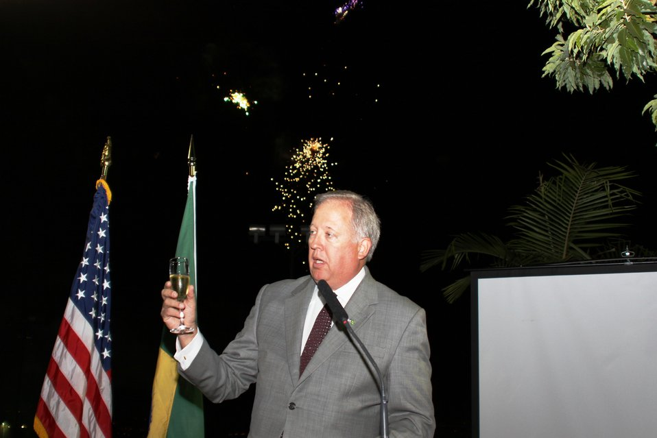 July 4th Celebration at U.S. Embassy in Brazil