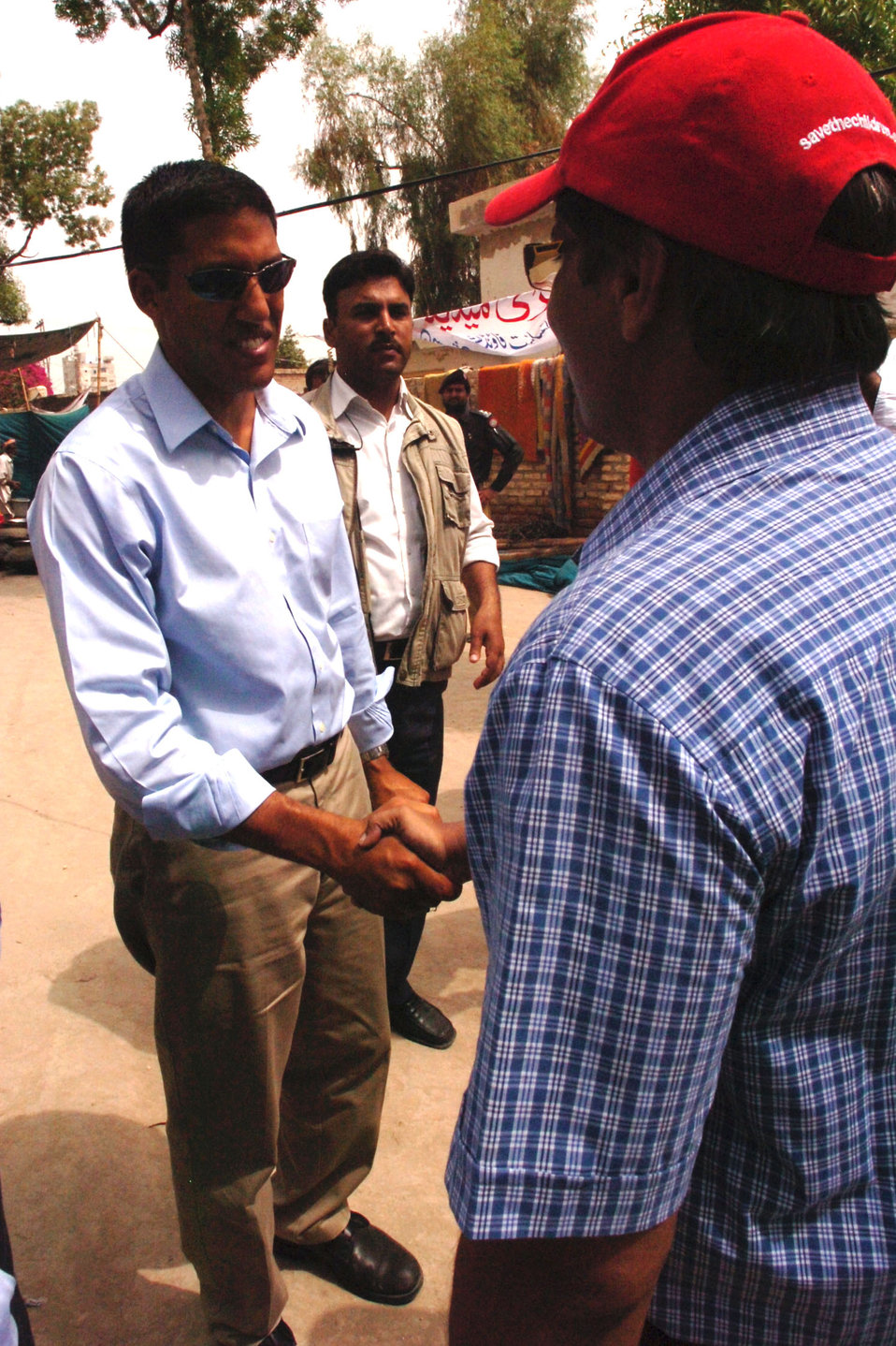 USAID Admin. Shah Consults With Pakistanis