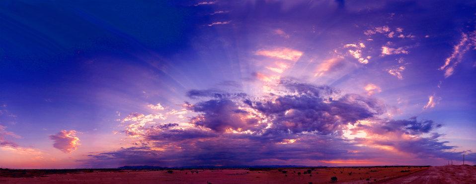 Desert sunrise 7-1-12e