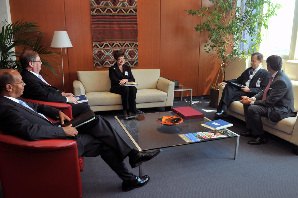 Under Secretary Tauscher Meets With IAEA Deputy Director Waller