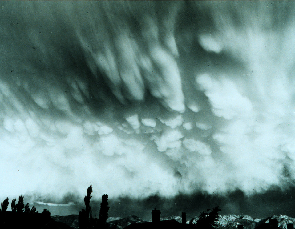 Mammatocumulus - often associated with tornado development