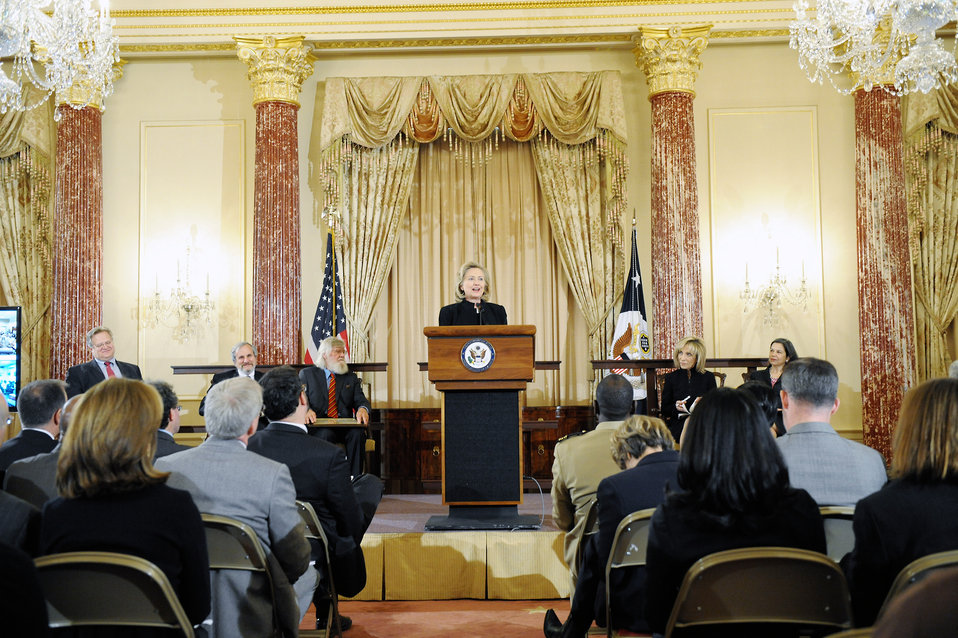 Secretary Clinton Commemorates 60th Anniversary of Refugee Convention