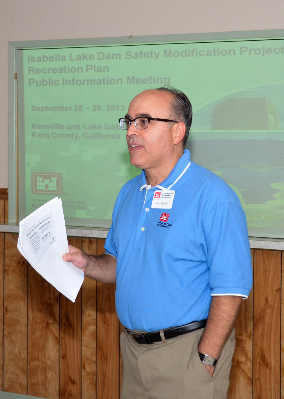 Corps talks recreation with Isabella Lake Dam communities