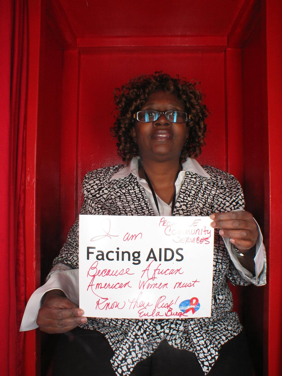 I am Facing AIDS because African American Women must know the risk!