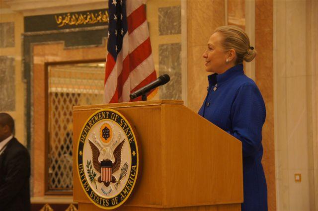 Secretary Clinton in Riyadh