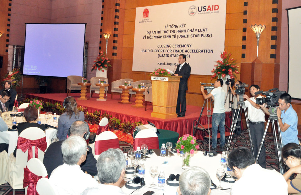 USAID's Support for Trade Acceleration Project (USAID STAR Plus) Closing Ceremony