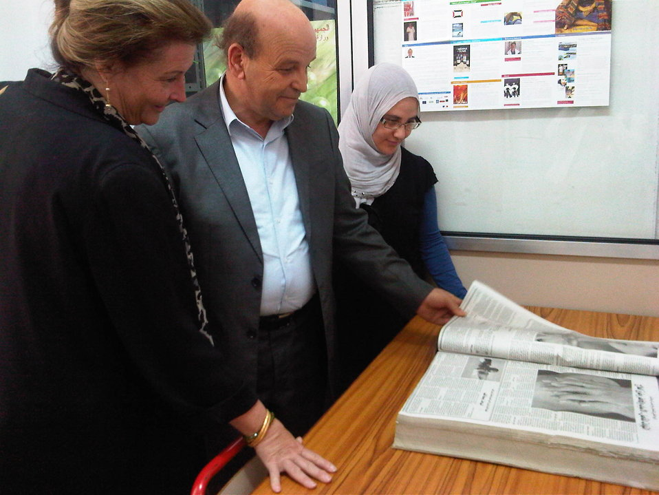 DAS Holtz Tours Tunisia's Main School of Journalism