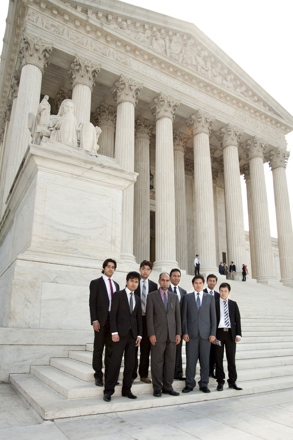 2012 Jessup Moot Court Competitors from Afghanistan Visit the Supreme Court