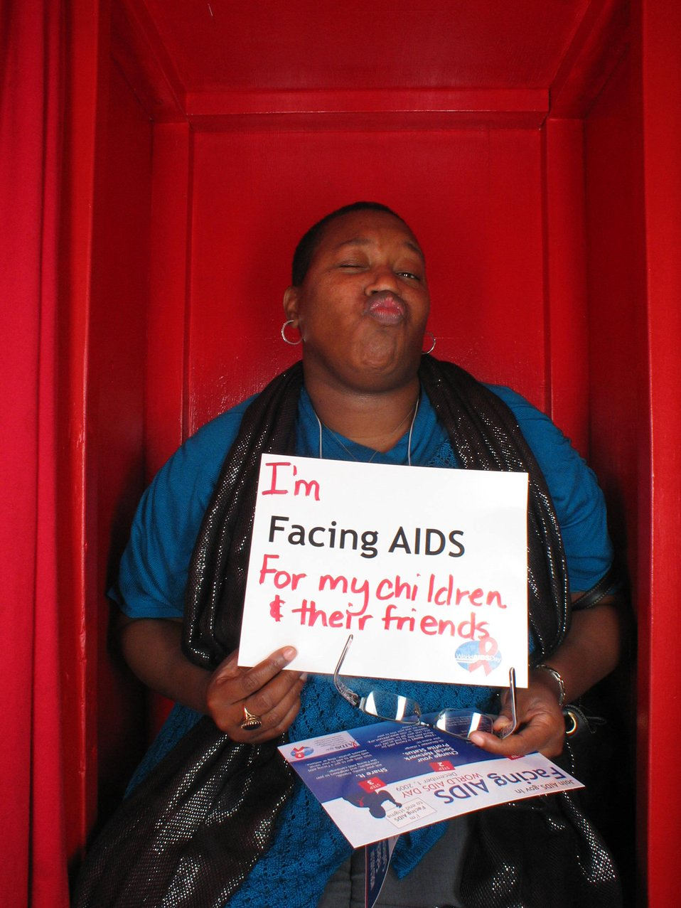 I'm Facing AIDS for my children and their friends