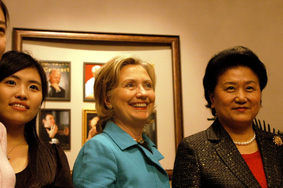 Secretary Clinton and Chinese State Councilor Liu Yandong Meet With Chinese Women Civil Society Leaders