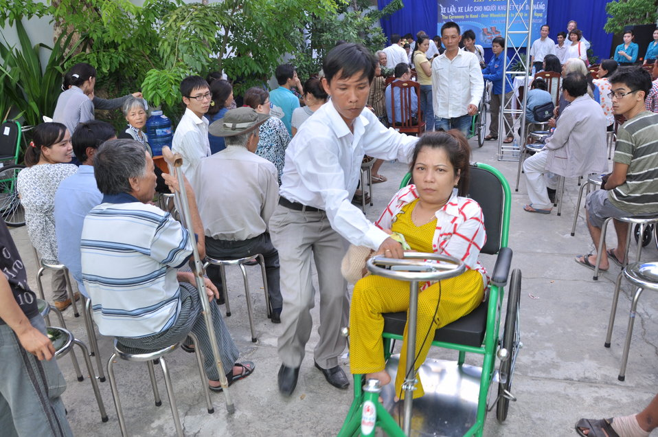 USAID Project Supports Rehabilitation Department for Children and Wheelchair Distribution in Danang