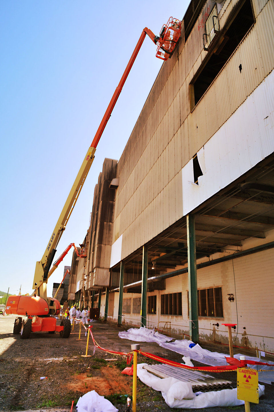 Transite Panels Removal from K-31  Building 2014 Oak Ridge