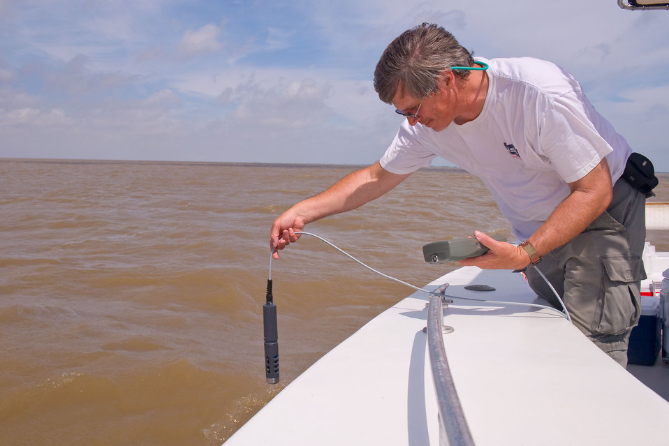 Water testing in the Gulf in response to the BP oil spill