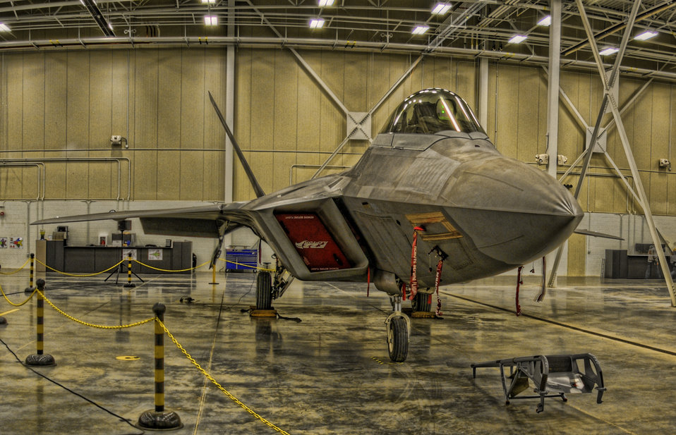 F-22 heavy maintenance facility at Hill Air Force Base