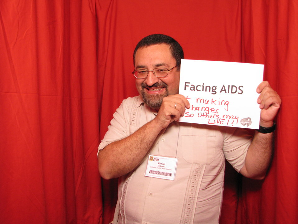 FACING AIDS and making changes so others may live!!