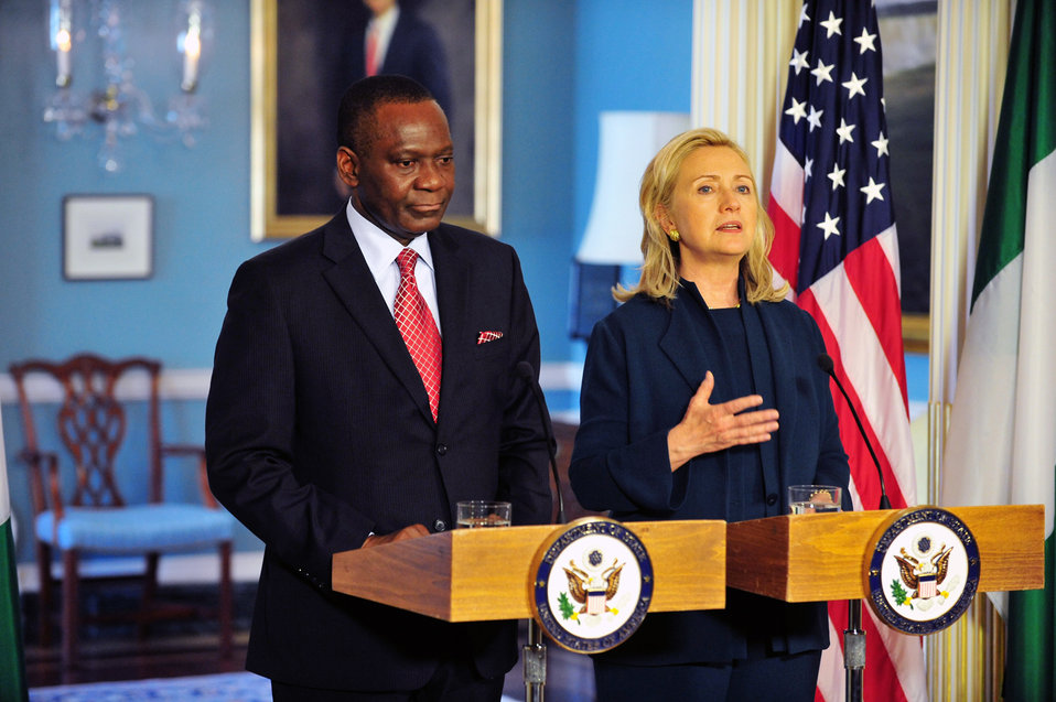 Secretary Clinton and Nigerian Foreign Minister Ashiru Respond to Questions