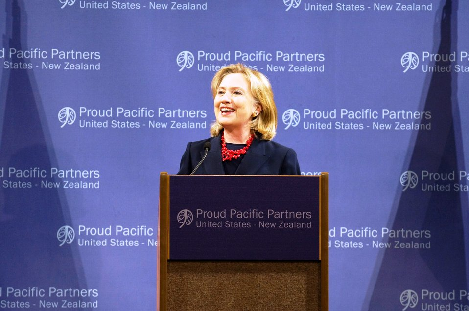 Secretary Clinton Delivers Remarks at a Town Hall Discussion