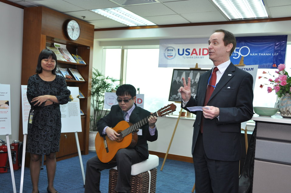 USAID 50th Anniversary Open House, USAID Vietnam