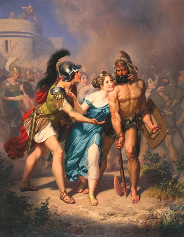 Charles Christian Nahl 1871, The Rape Of The Sabines - The Invasion.jpg