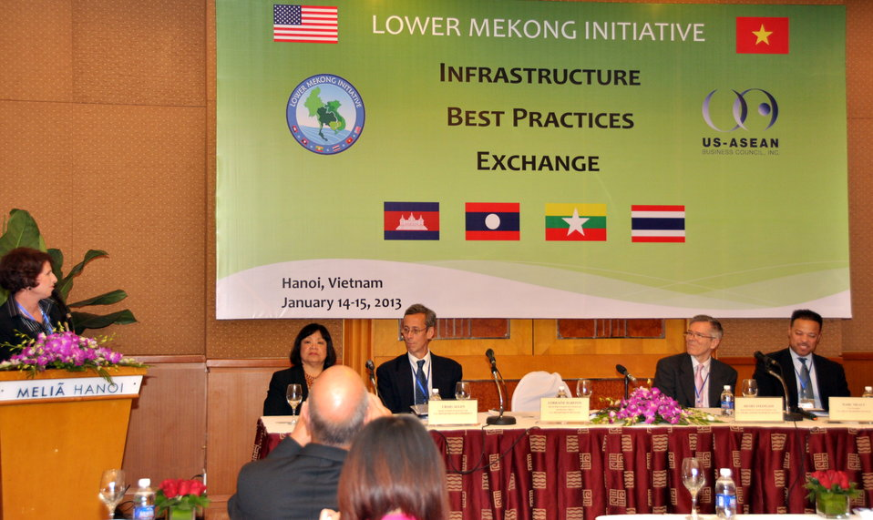 Press Conference at the LMI Infrastructure Best Practices Exchange