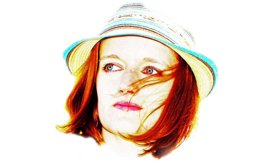 Woman and a hat