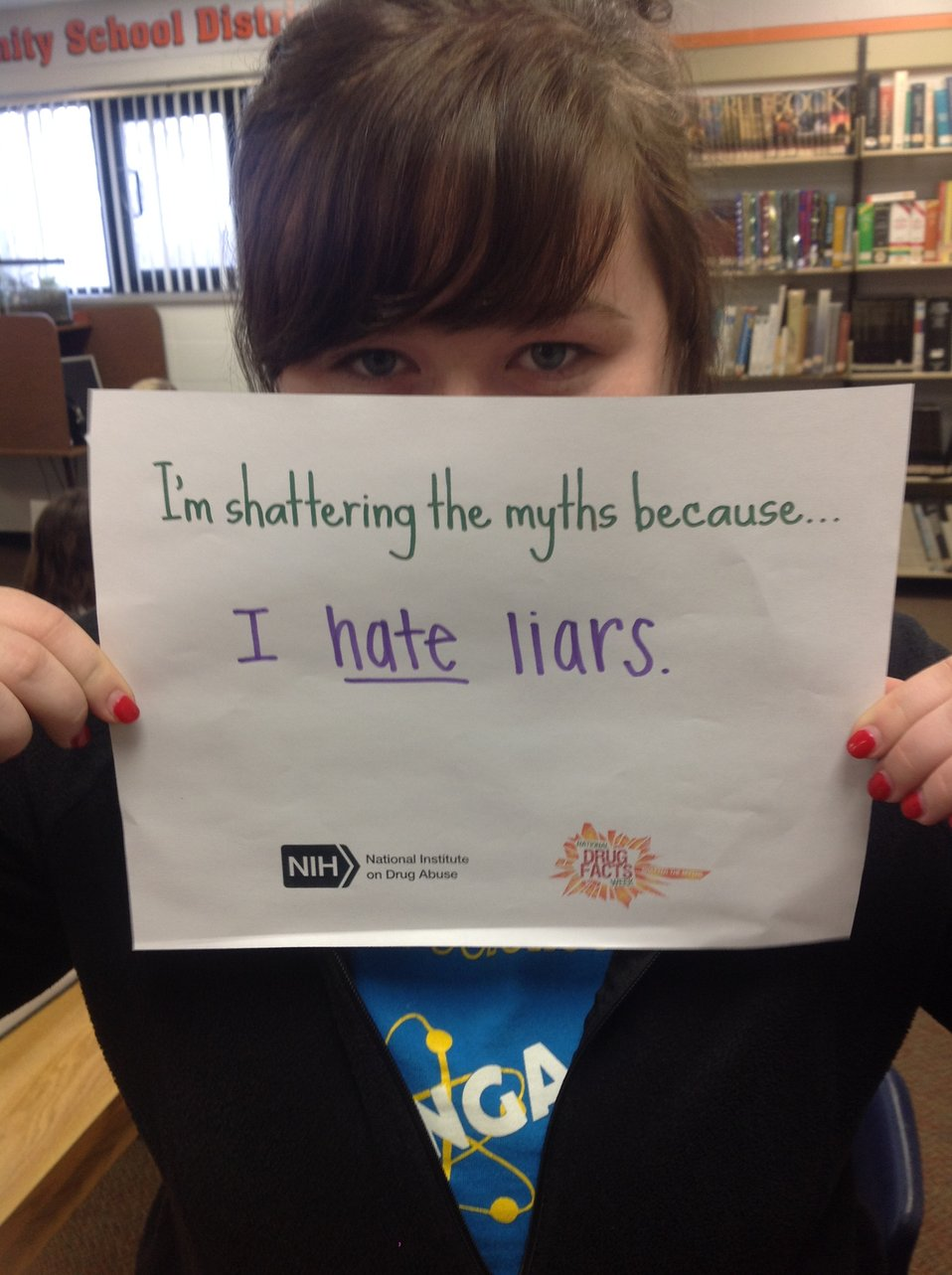 I'm Shattering the Myths Because...