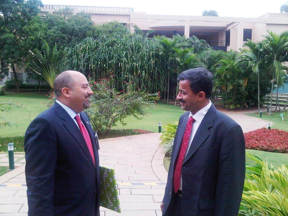 Acting Deputy Assistant Secretary Keshap Speaks With Vasudev Nayak