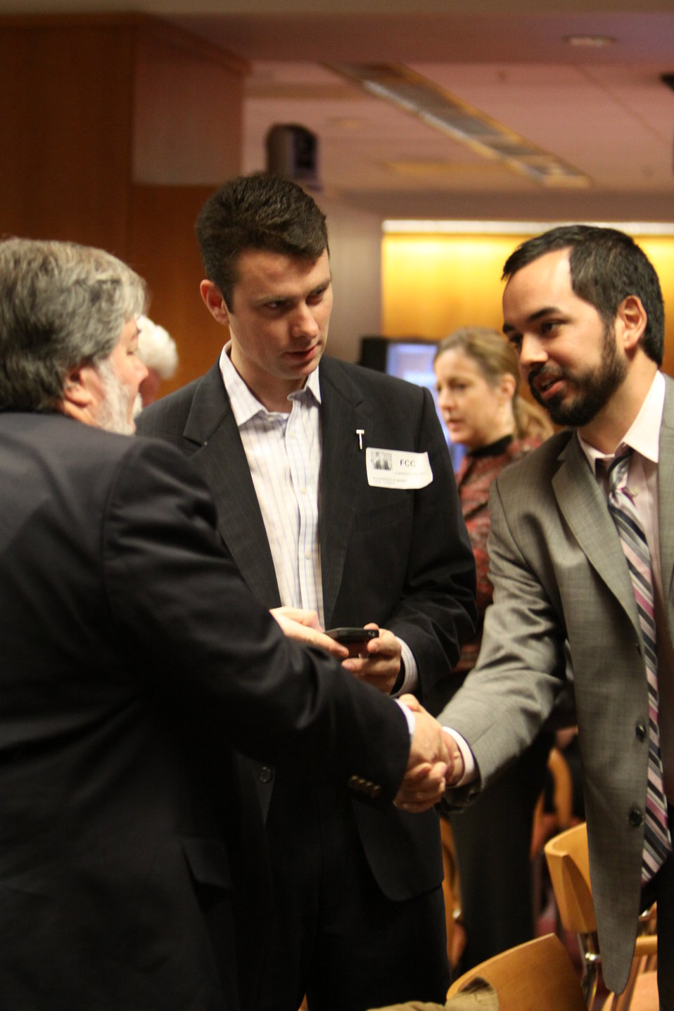 Dan McSwain, FCC New Media with Apple Co-Founder Steve Wozniak and O'Reilly Media Correspondent Alex Howard