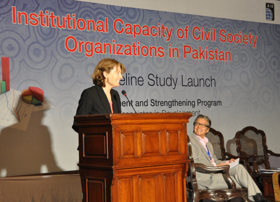 Institutional Capacity of Civil Society Organizations in Pakistan - Baseline Study Launch