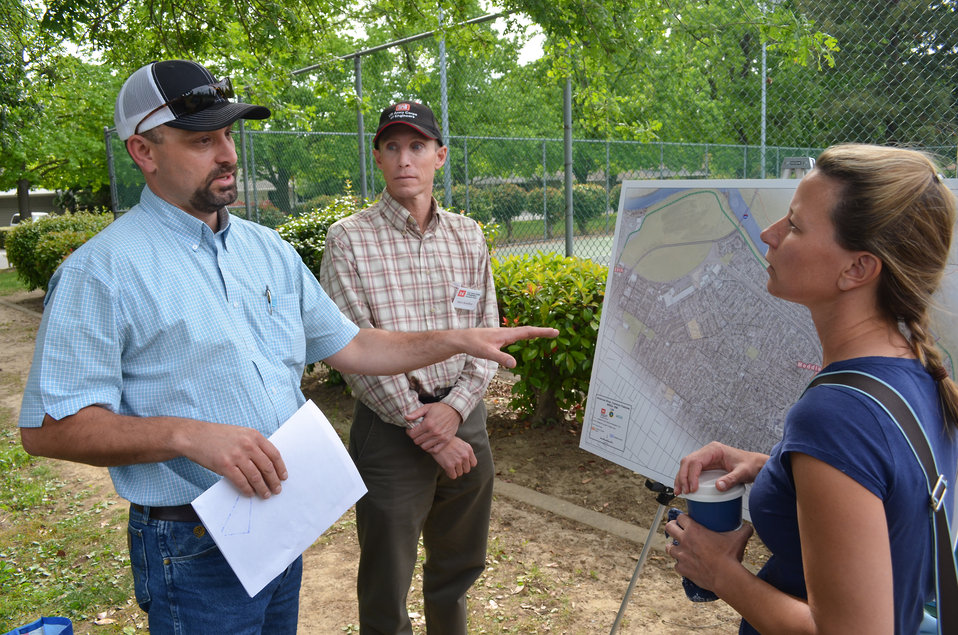 Levee work topic of public meeting in River Park