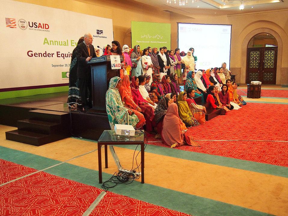 Gender Equity Program, Pakistan